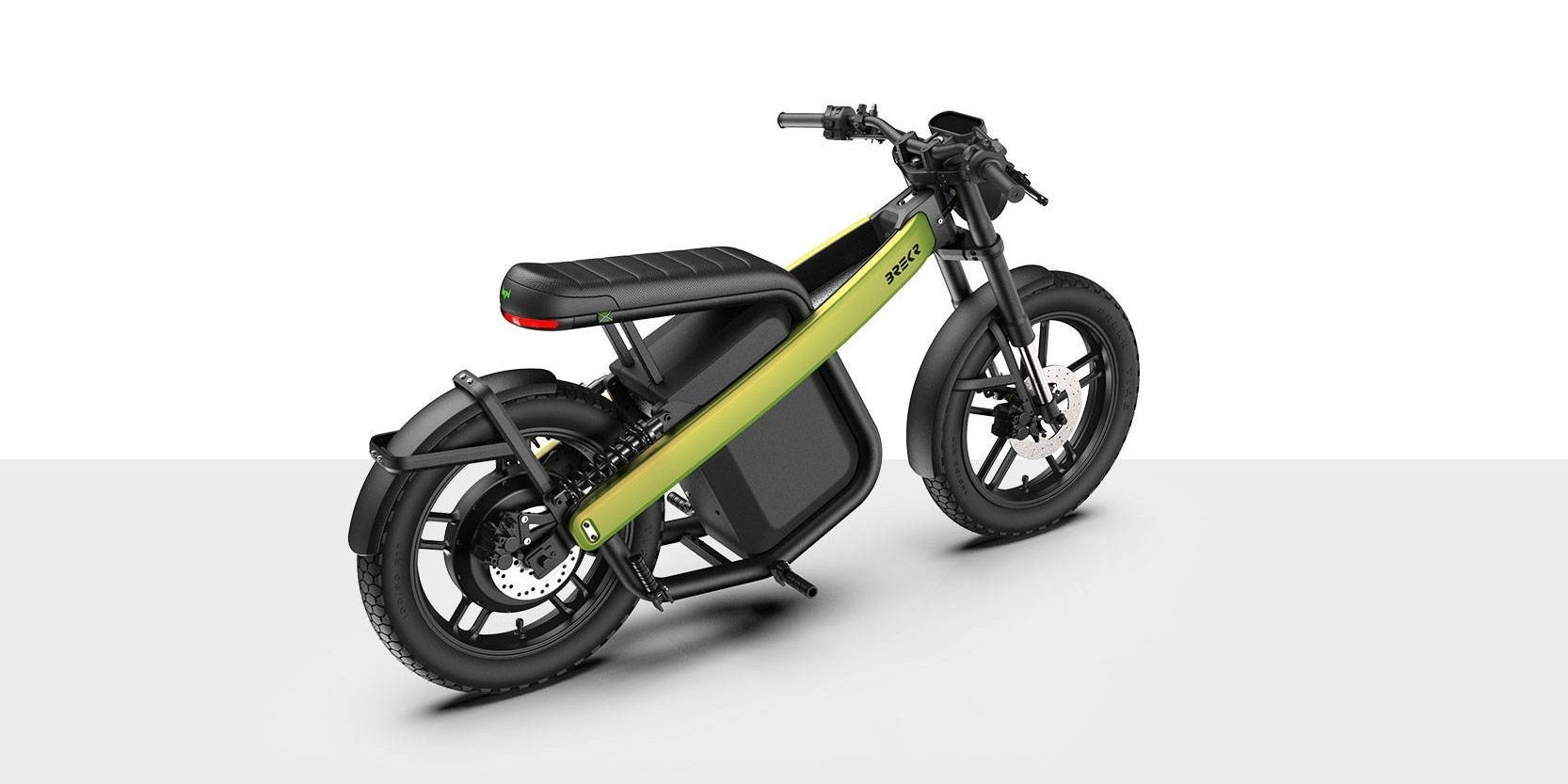 Brekr Model B electric moped offers dual batteries and 100 miles of range