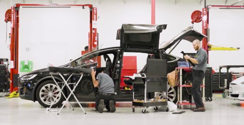 Tesla releases new Do It Yourself maintenance instructions for their cars - Electrek