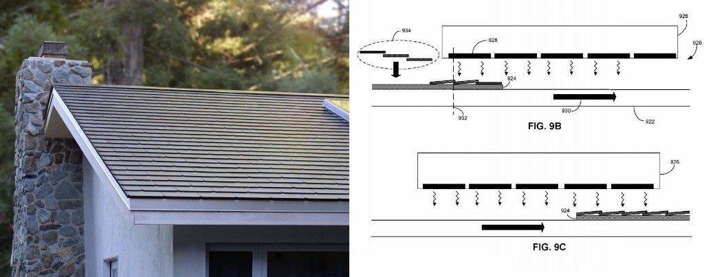 Tesla solar roof tile connector system explained in new patent - Electrek