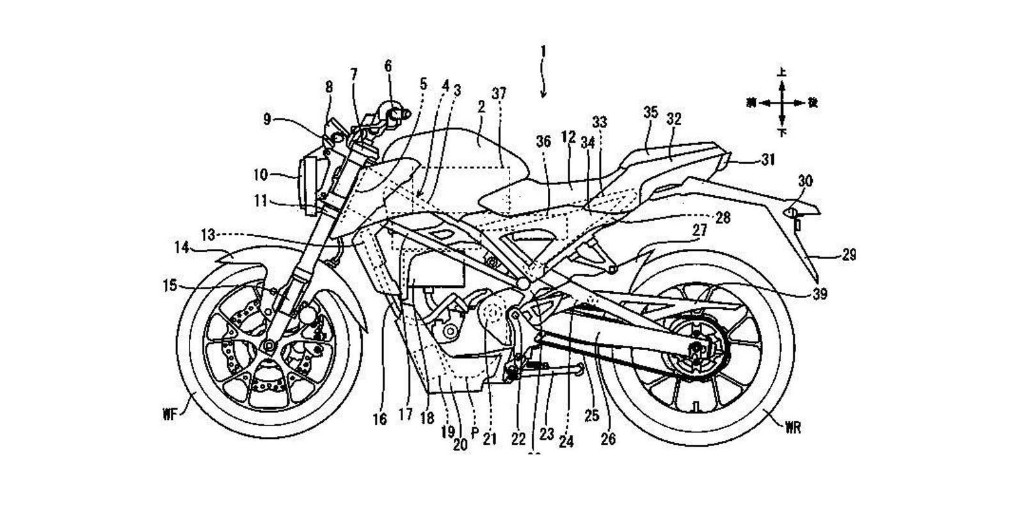 Electric Honda CB125R naked motorcycle in the works, first images seen