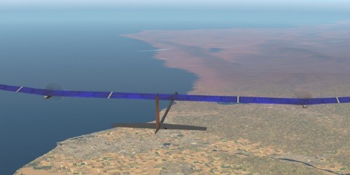 Solar airplane aims to stay afloat for a whole year - Electrek