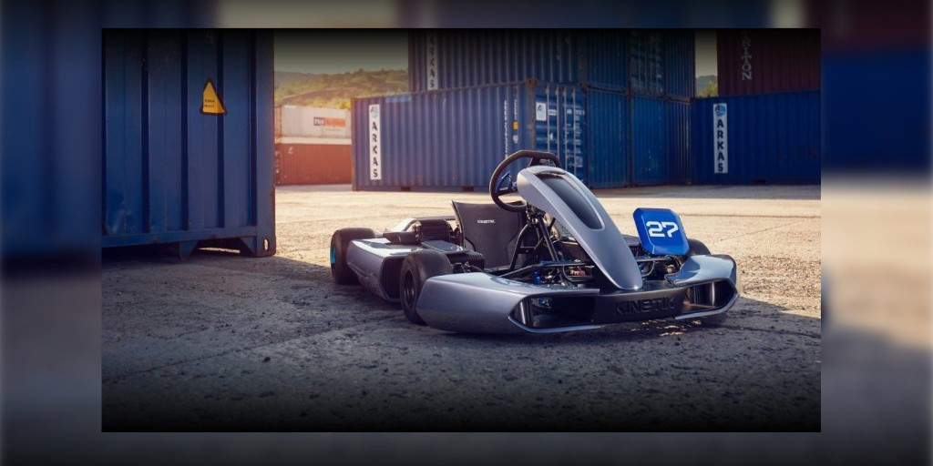Kinetik's epic-looking 60 MPH electric go-kart is headed for production