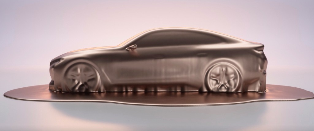 BMW releases teaser image of i4, its first electric car with over 300 miles of range - Electrek