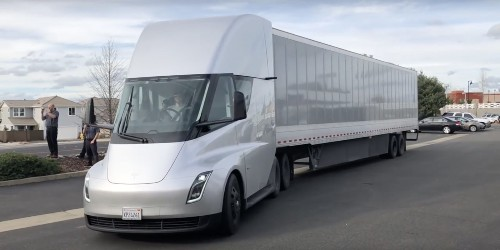 Tesla Semi receives order of 30 more electric trucks from Walmart
