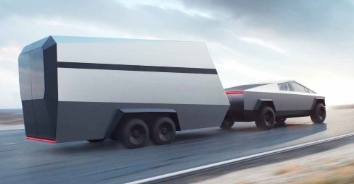 Tesla Cybertruck will have high-tech interface to make towing better than ever - Electrek