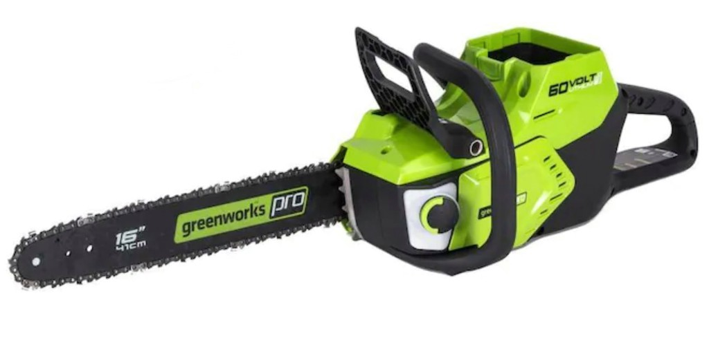 Green Deals: Greenworks Pro 60V Electric Chainsaw from $199, more - Electrek
