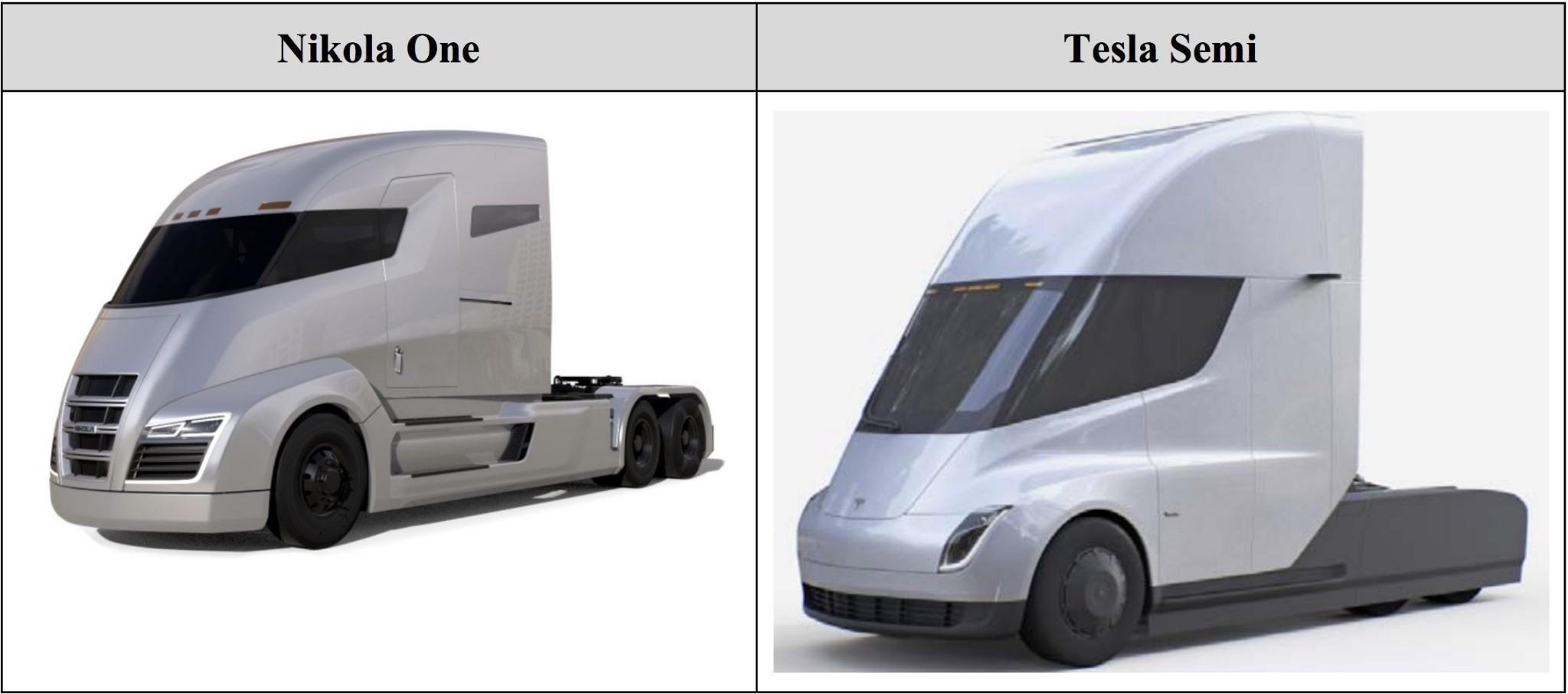 Tesla (TSLA) claims Nikola (NKLA) stole its truck design from Rimac designer - Electrek
