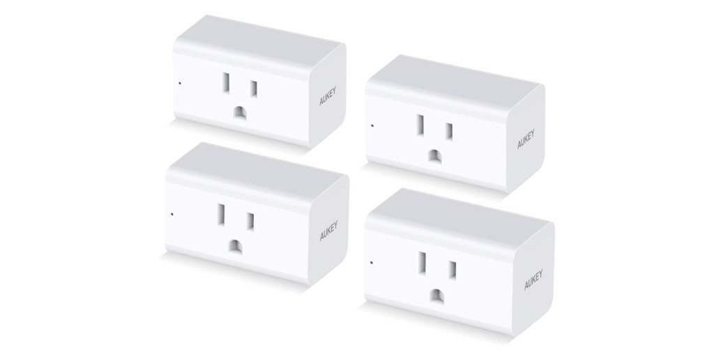 Get four Aukey energy-saving smart plugs for $20, more in today's Green Deals - Electrek