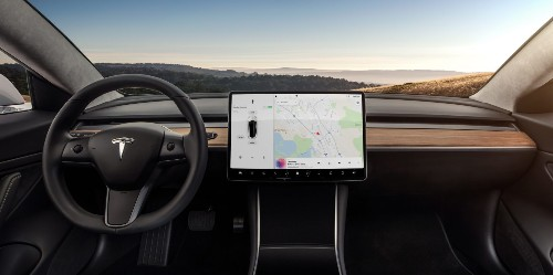 Tesla updates Model 3 software with radio, odometer, and more