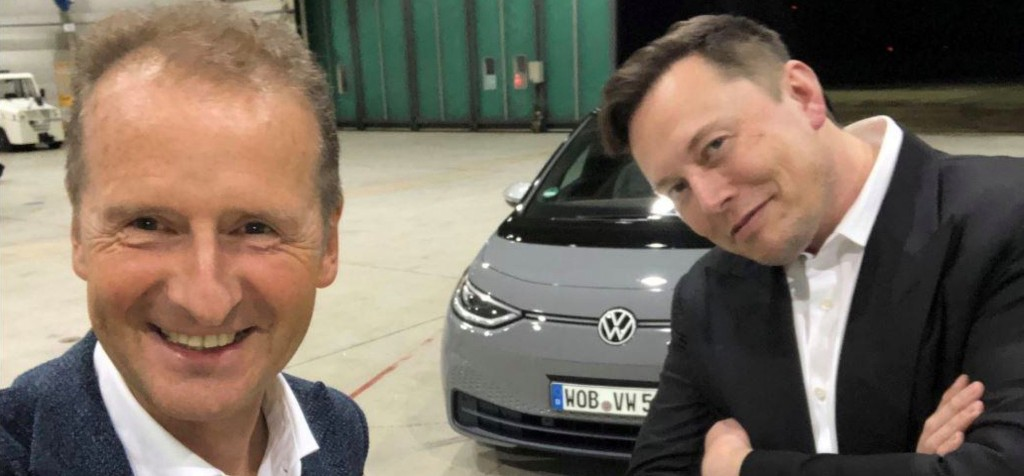 VW CEO reveals 'Mission T' to 'catch up with Tesla' - Electrek
