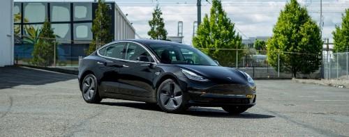 Porsche rents Tesla Model 3 to test out latest Autopilot, comes out impressed