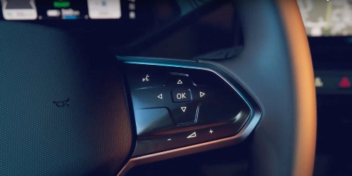 Volkswagen shows ID.3 electric hatchback's dashboard in new teaser video