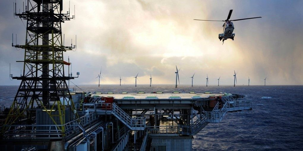 EGEB: Offshore oil and gas platforms to be powered — by wind - Electrek