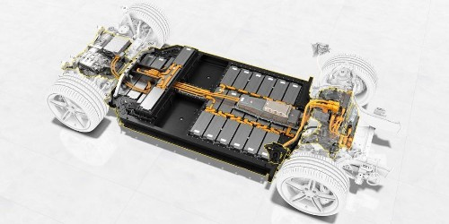 See what's underneath and inside the Porsche Taycan