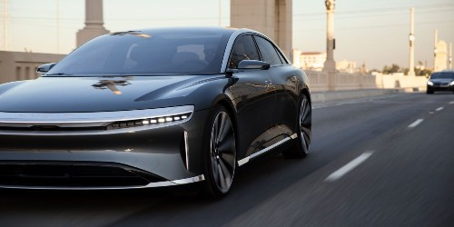 Lucid Motors prepares production Air electric sedan unveiling in NY