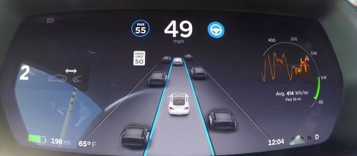 Tesla will release a new Autopilot interface with version 9 software coming this summer, confirms Elon Musk