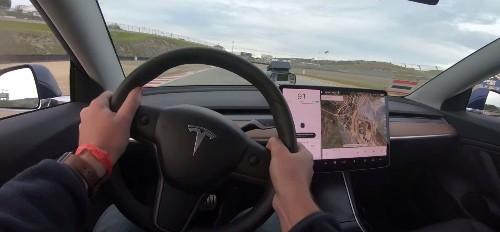 Tesla Model 3 Performance breaks Laguna Seca production EV record again