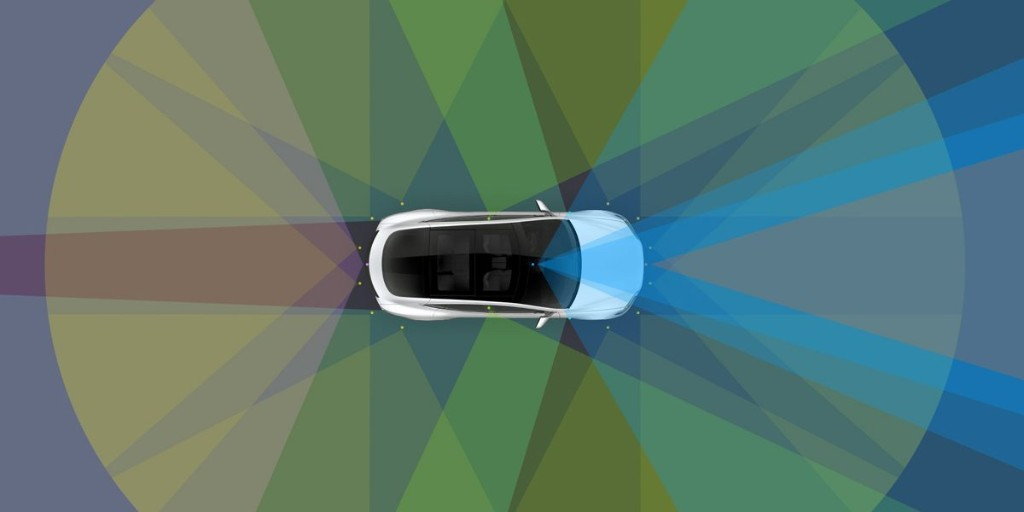 Tesla is adding a new '4D' radar with twice the range for self-driving - Electrek