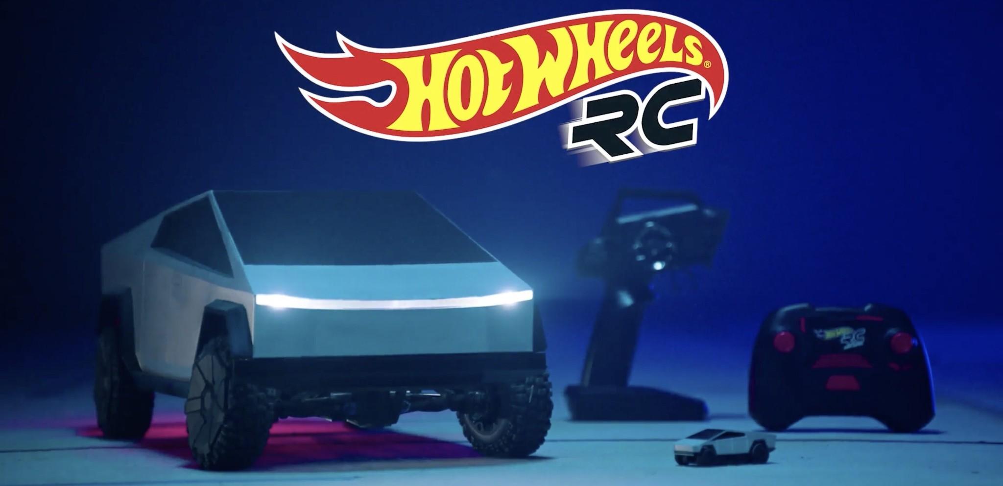 Tesla partners with Hot Wheels on Cybertruck remote-controlled toys, pre-orders open - Electrek
