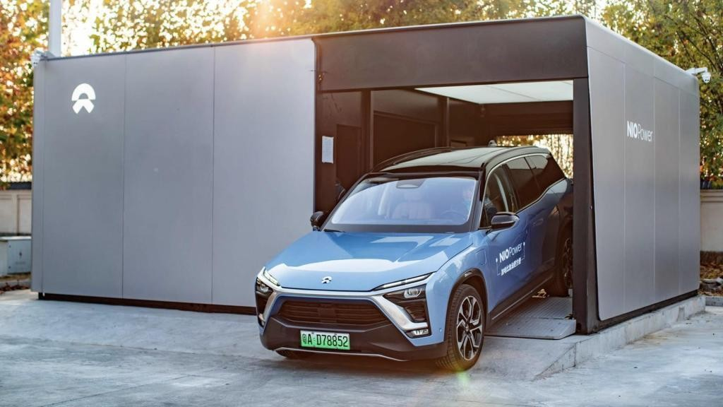 Nio might have figured out battery swap for electric cars as it completes 500,000 swaps - Electrek