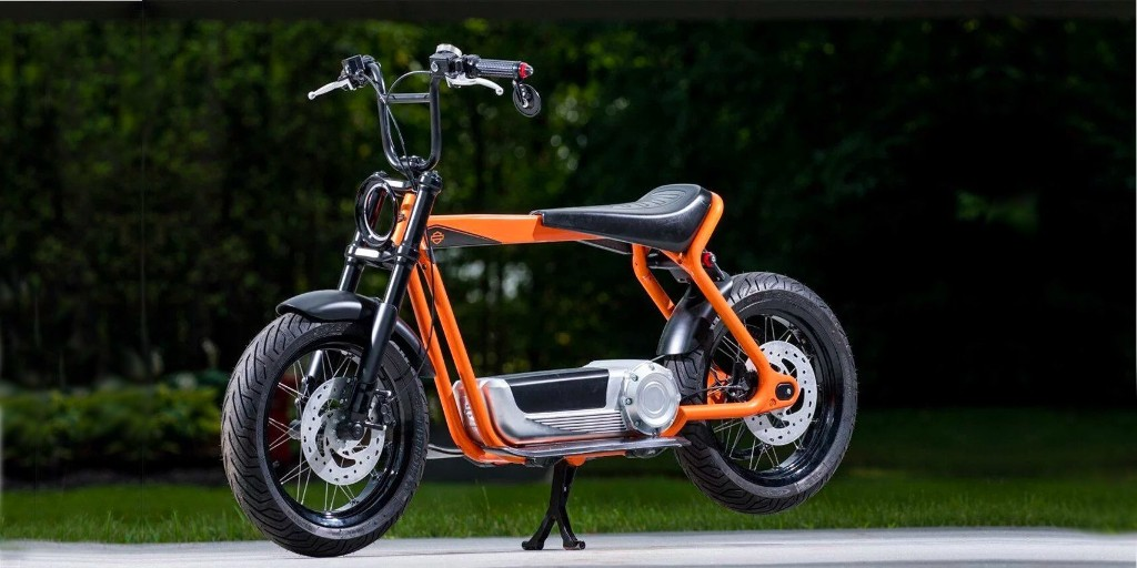 Harley-Davidson electric scooter design filings show it in the best detail yet