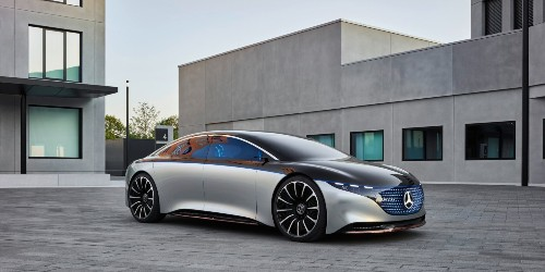 Here comes Mercedes EQS electric sedan, as company makes a run at Tesla