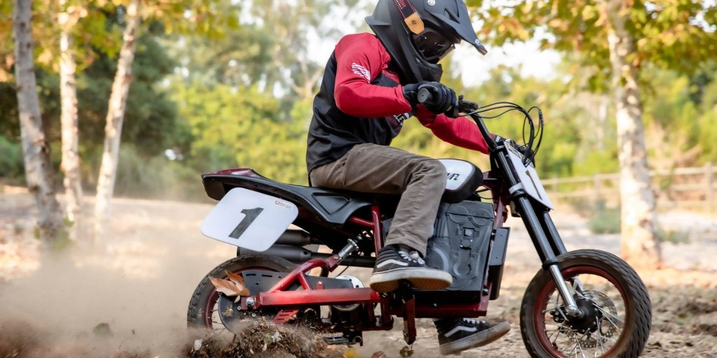 Here's Indian's first electric motorcycle, but there's one small catch
