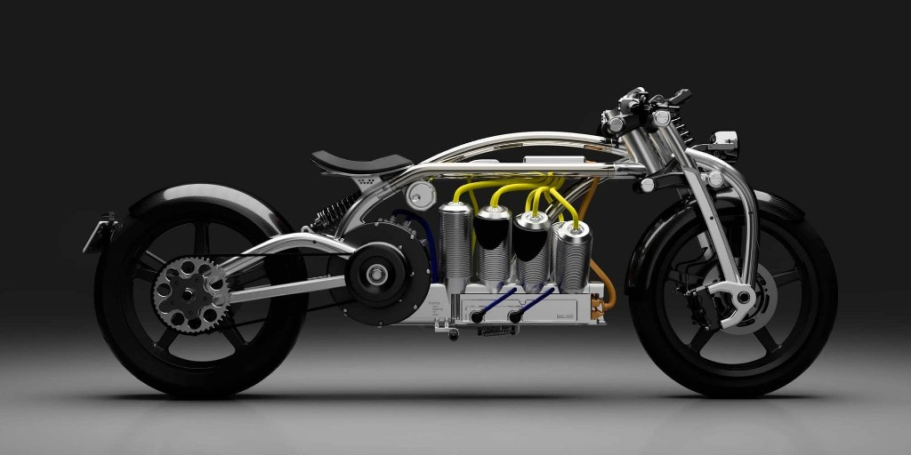 Zeus V8 electric motorcycle to be produced under 3d printing partnership