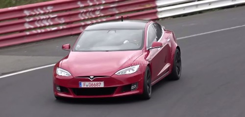 Watch new Tesla Model S 'Plaid' prototypes go crazy on the track