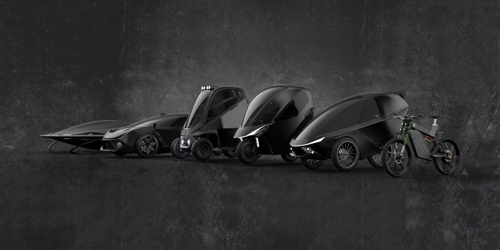 Daymak unveils high-end EVs, e-bike, e-motorcycle, flying car and more