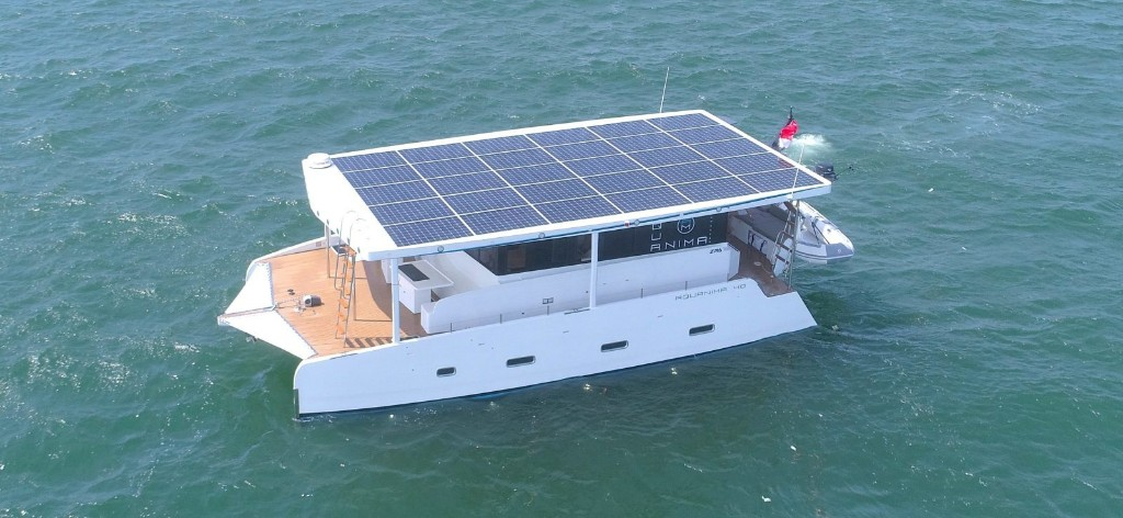 This $500,000 electric yacht can cross oceans on just battery and solar power - Electrek