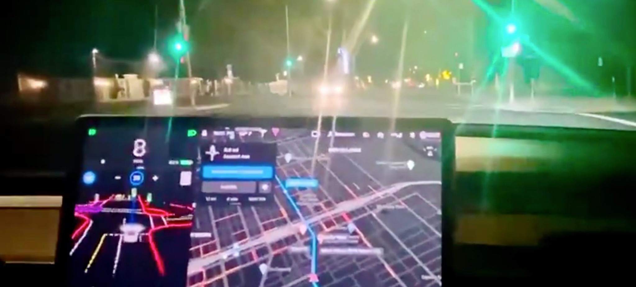 First Look at Tesla Full Self-Driving Beta and it looks just insane - Electrek