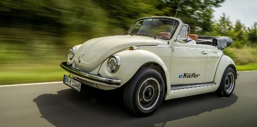 VW to start offering electric conversion of classic Beetles, unveils first prototype