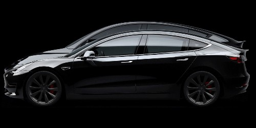 Tesla Model Y product photos show best size comparison yet with Model 3 - Electrek