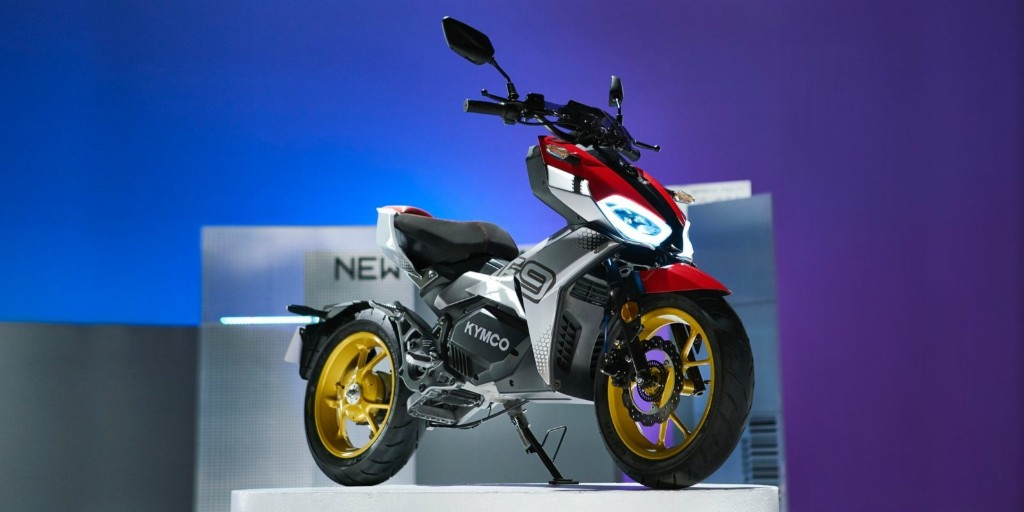 KYMCO F9 unveiled as 'cool urban electric motorcycle' with auto gearbox
