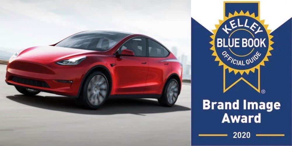 Tesla dominates Kelley Blue Book Luxury Brand 2020 Awards - Electrek
