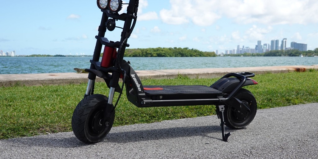 Wolf Warrior 50 mph e-scooter review: Most fun you can have standing up