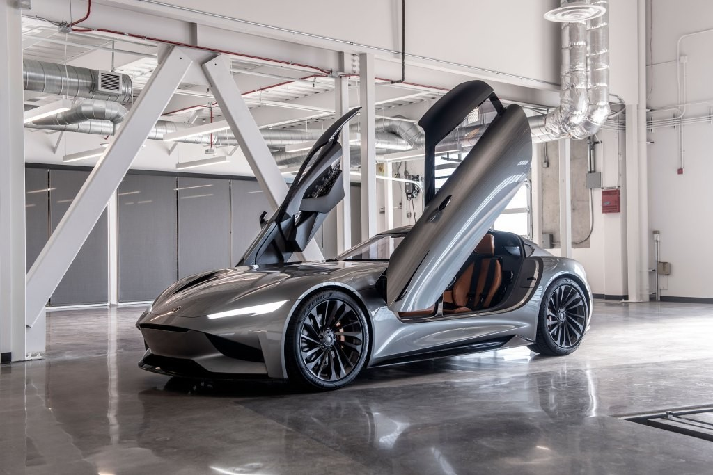 Karma teases 'all-electric supercar' as it tests new EV platform - Electrek
