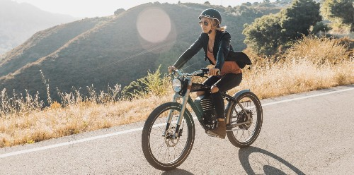 This new high power 36 mph electric bicycle looks like a vintage motorcycle