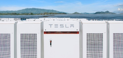 Tesla is working on a new 'Megapack' energy module at Gigafactory 1