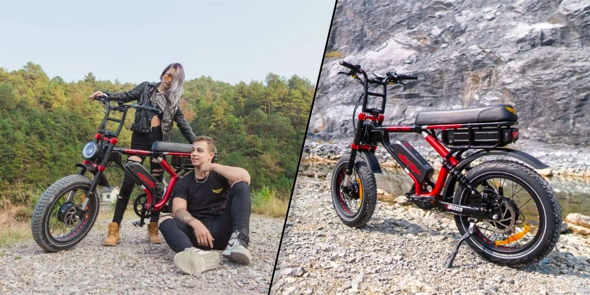 Ariel Rider Grizzly dual suspension AWD electric moped launched
