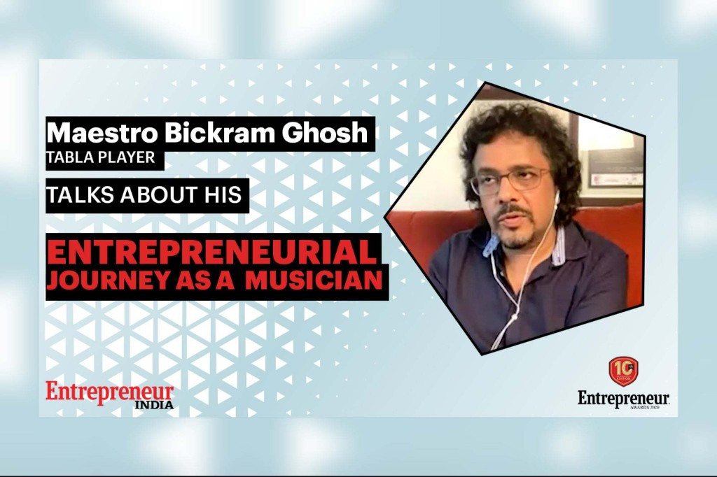 Maestro Bickram Ghosh's Ode to Life and Learnings