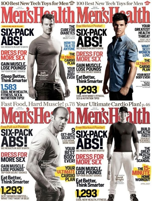 Me - Magazine cover