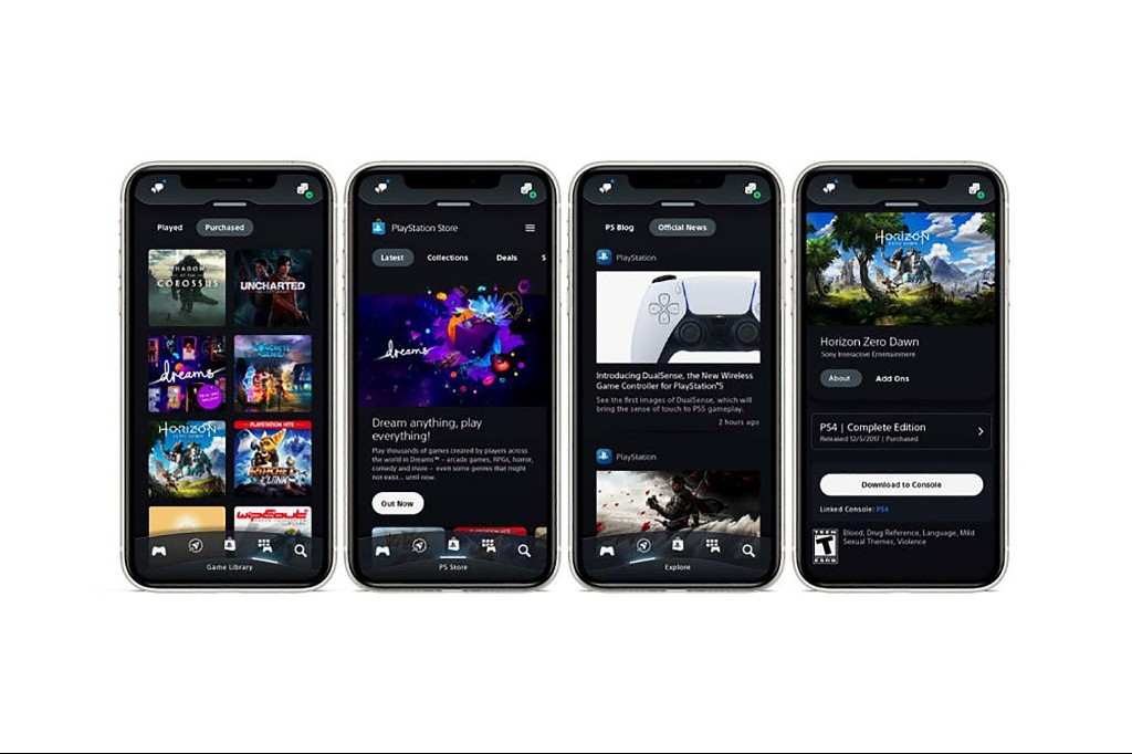 Sony Launches a New PlayStation App