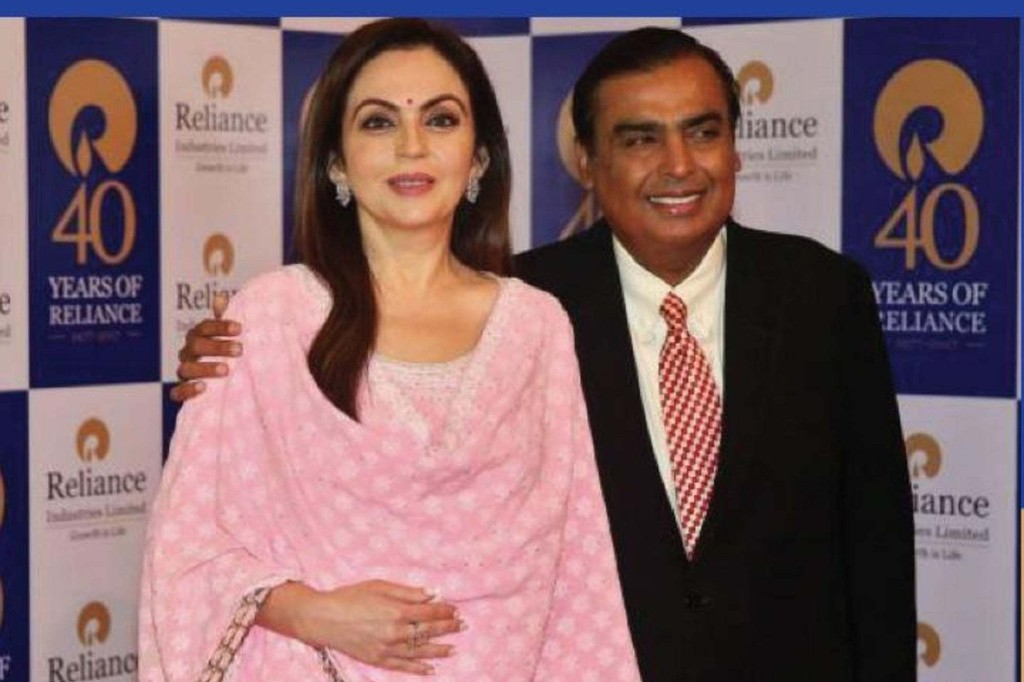Mukesh Ambani Races ahead of Buffett, Larry Page and Musk to Become World's Fourth Richest Person