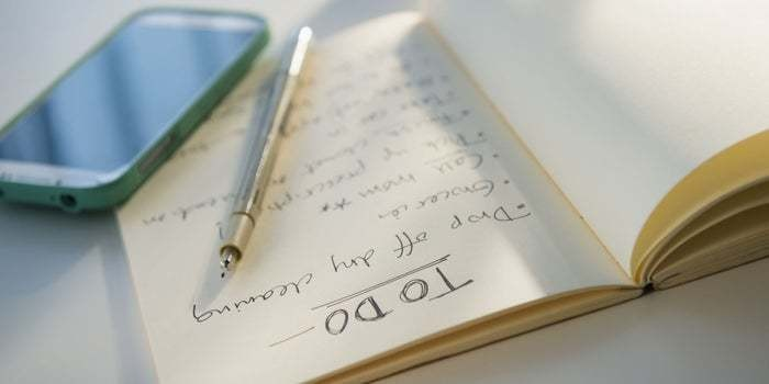 You'll Accomplish More Without a To-Do List