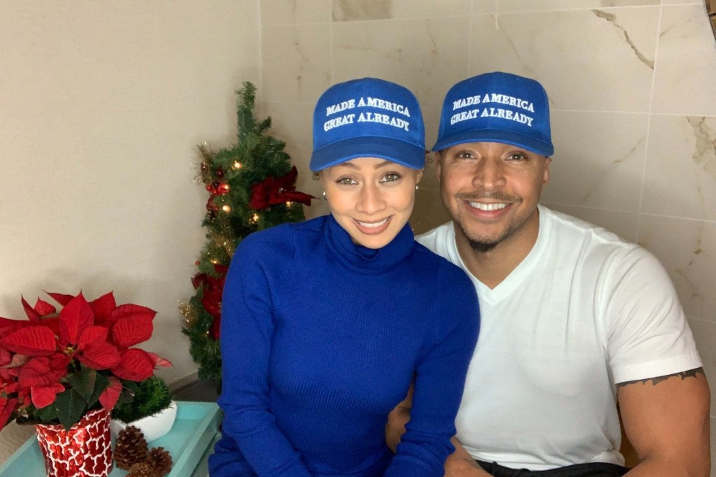 Who Is the Man Behind Those 'Blue MAGA' Hats?