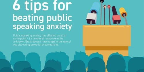 6 Easy Tips for Conquering Your Fear of Public Speaking (Infographic)