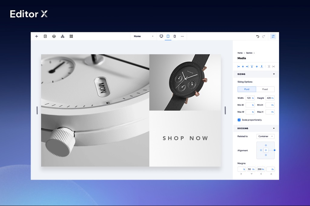 Editor X: The New Website Creation Platform for All Business Needs