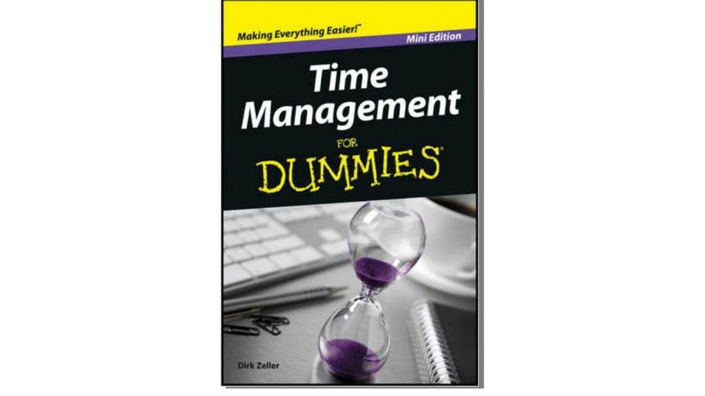 Time Management - Magazine cover